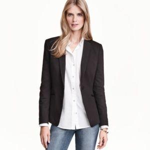 NWOT H&M Black Long & Lean Blazer
